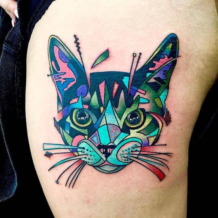 Tribal Hello Kitty: 1000+ Ideas About Kitty Tattoos On Pinterest