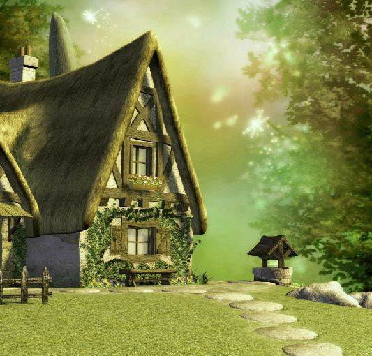 127 best images about fairytale homes cottages on for Fairytale cottage home plans