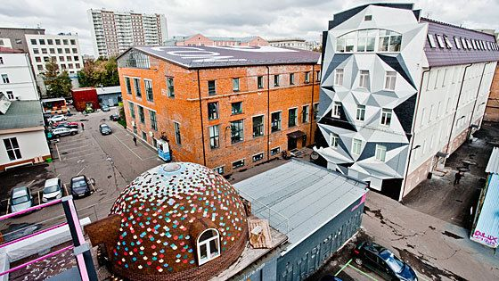 Moscow central has a remarkable number of art spaces