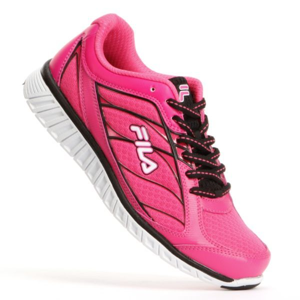 FILA Hyper Split Pink Ribbon Running Shoes Women