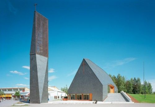 Kuokkala Church by Lassila Hirvilammi. (Courtesy Center for Architecture)
