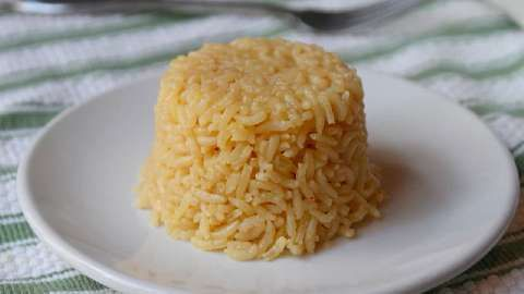 Classic Rice Pilaf...from Allrecipes.com..if you sub in additional olive oil or a FI free spread you will have Virgin Diet Friendly rice pilaf...