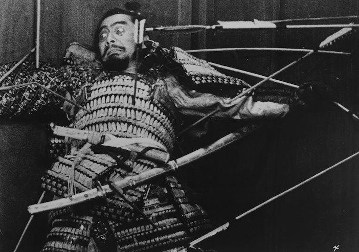 Toshiro Mifune in Throne of Blood-Akira Kurosawa, 1957