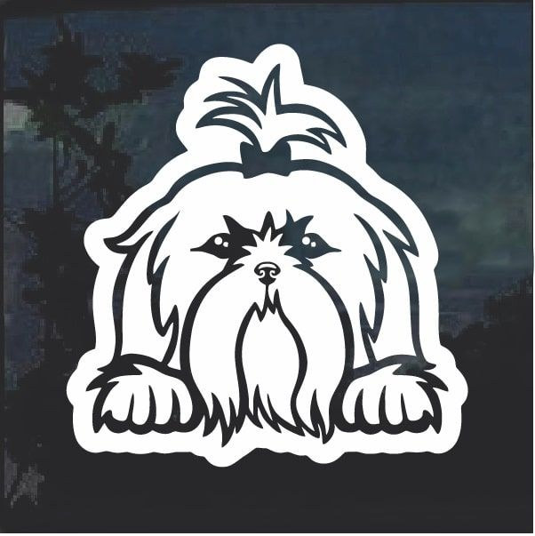 Tibetan Mastiff Sticker Pet Accessories Laptop Decal Car Decal Dog Dog Sticker Tibetan Mastiff Decal Vinyl Dog Decal