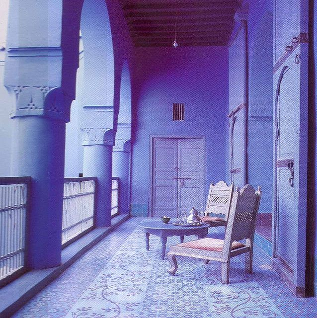 I' m thinking... Every room it's own color and every balcony another color... #color