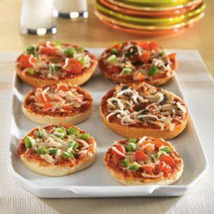 Pizza Bagels Recipe   Yummly