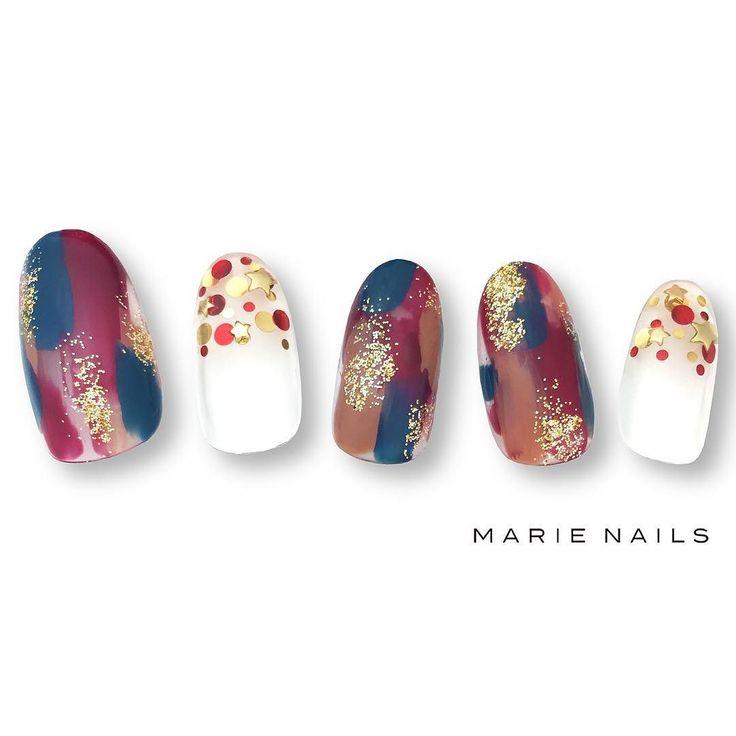 #マリーネイルズ #ネイル #cool #nailaddict #ジェルネイル #ネイルアート #gelnails #swag #marienails…