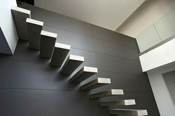 Escaliers (c) Yves Deneyer - Bois et Métal