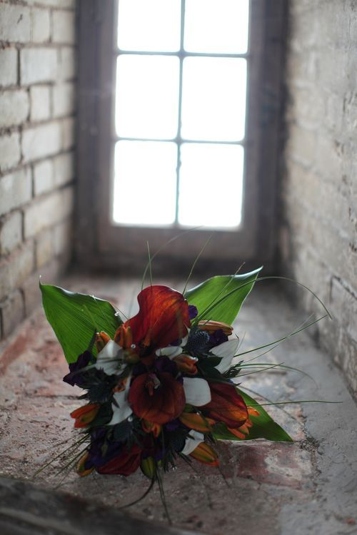 Beautiful wedding flowers photograph