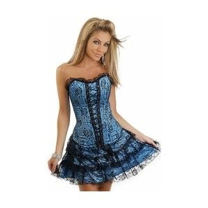 36 best women in corset dresses images on pinterest