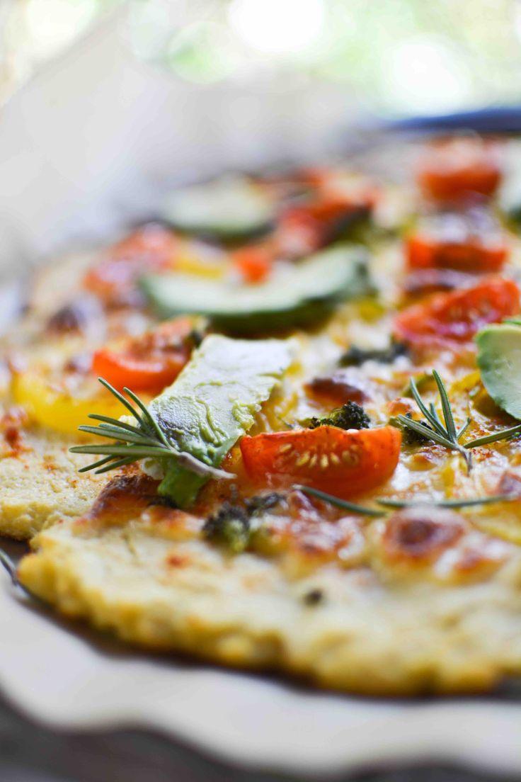 Pizza de coliflor. #sinharinas