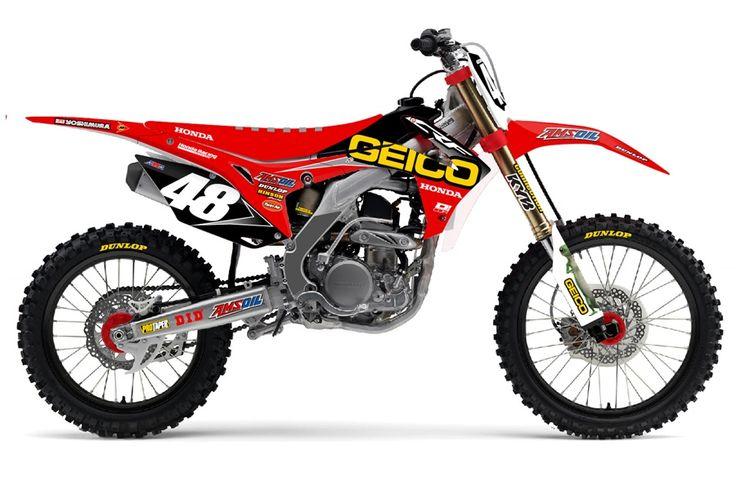D'Cor Visuals GEICO Honda Team Replica.   www.itlcanada.com