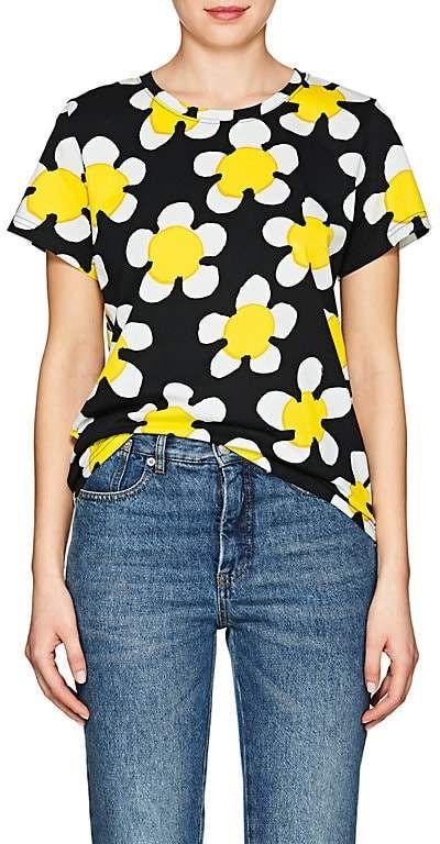 d44736e5 Women's Daisy-Print Cotton T-Shirt #jersey#vivid#print | fashion ...