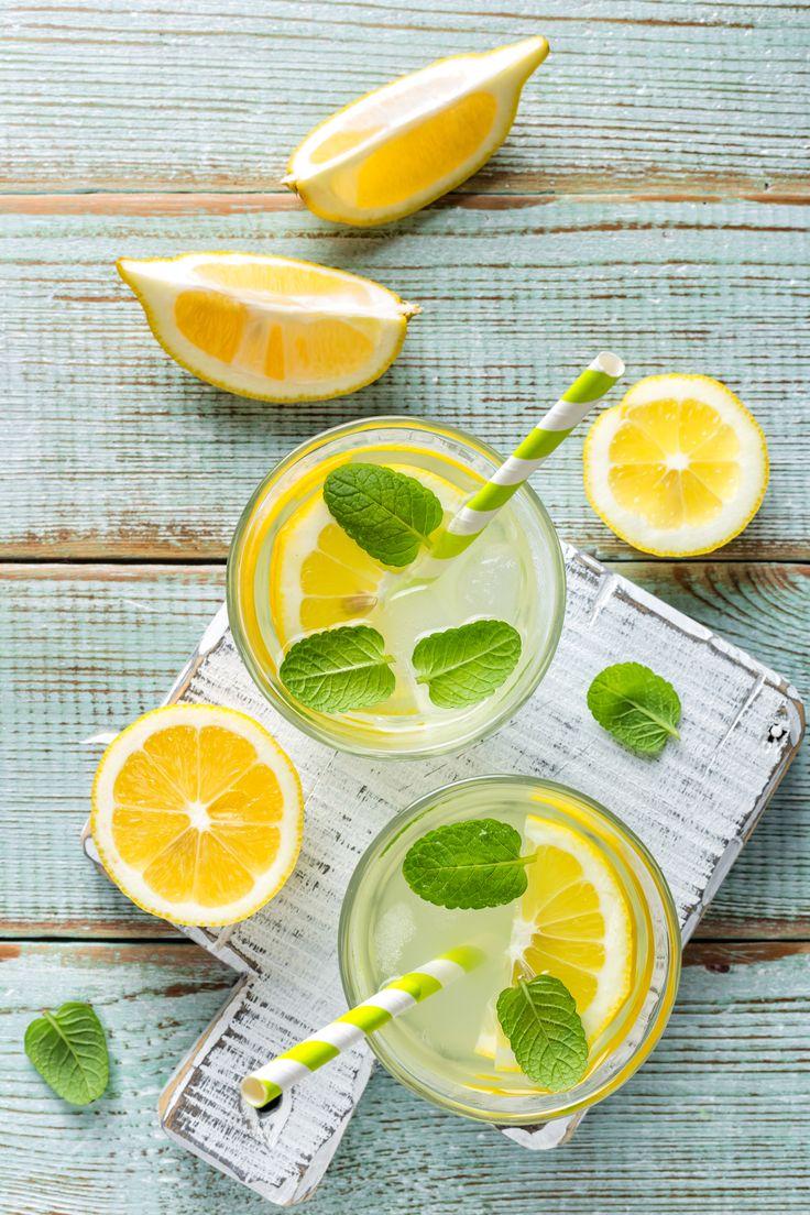 Die Zuckermenge in der Homemade-Limonade könnt ihr selbst bestimmen