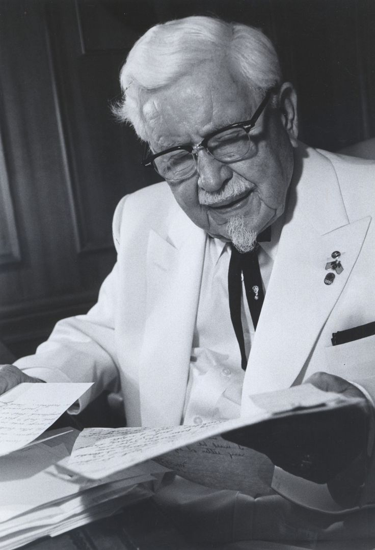 colonel sander and kentucky fried chicken Kentucky fried chicken to make recipe-laden autobiography, written in 1966 but  discovered last november, available for free download via.
