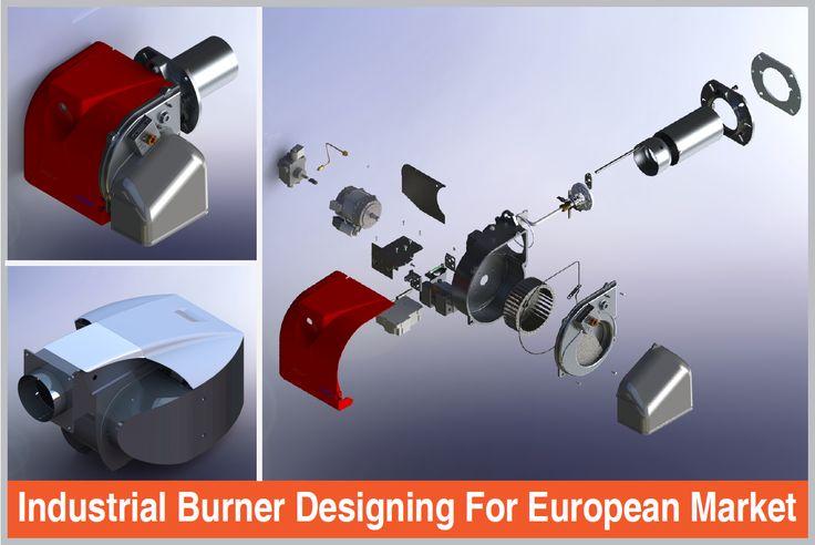 #Industrial #Burner #Designing for European Market