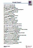 #Worksheets and exercises with solutions about simple present in #English #lessons and Dyslexia lessons. #Crossword #Translation Complete sets #Negative #sentences Write #questions / #answers Make sentences in the correct order Simple Present (3rd person #singular -s / es / ies in sentences) Write in the correct #verb #form #Cloze The worksheets can be used irrespective of the book used at school.