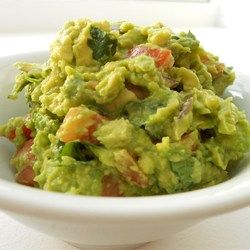 Guacamole. You can make this avocado salad smooth or chunky depending on your tastes. #salad #avocado