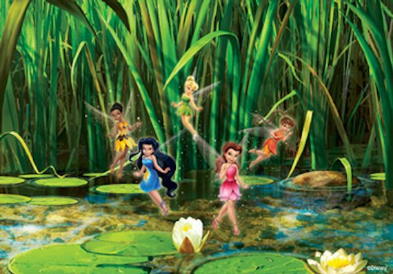 575 best images about pixie hollow on pinterest disney for Disney fairies wall mural