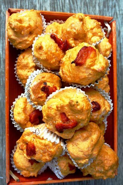 Dolci peccati di gola: Muffin salati al gusto di pizza
