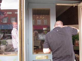 The Purple Turnip is Open - Maggie Buonanomi's shop in Lexington, Missouri.