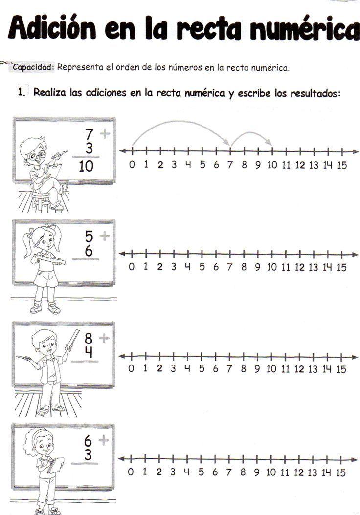 Adición en la recta numérica: 5 años - Material de AprendizajeMaterial de Aprendizaje