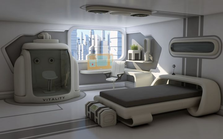 10 Futuristic Bed room Design Concepts