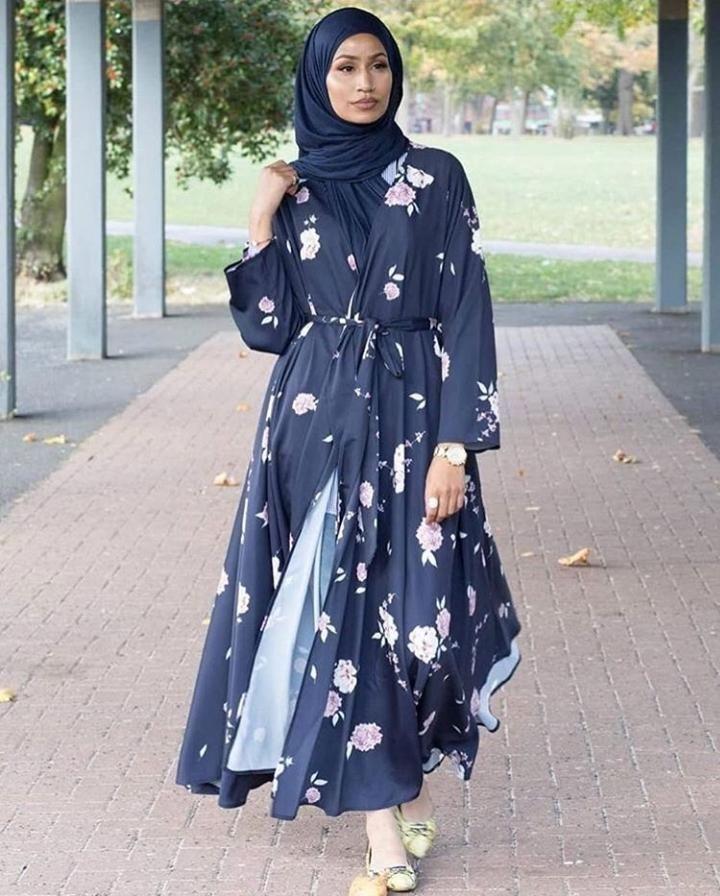 Open Abaya Designs 20 Latest Open Abaya Styles You Can Buy In 2020 Abaya Fashion Abaya Designs Open Abaya Style