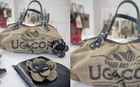 Risultati immagini per come realizzare borse dai sacchi di caffè