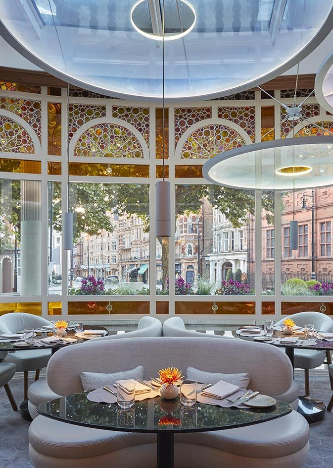 Jean Georges At The Connaught, London, UK. Boutique Design