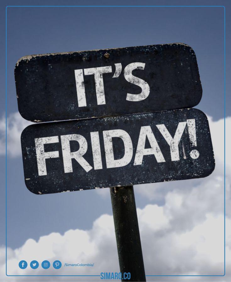 Gracias a Dios Es Viernes. http://simaro.co @SimaroColombia #SimaroColombia #SimaroCo #TGIF #Friday #Viernes #Weekend #FinDeSemana #LoEncontramosPorTi #WeFindItForYou #SimaroMx #SimaroBr