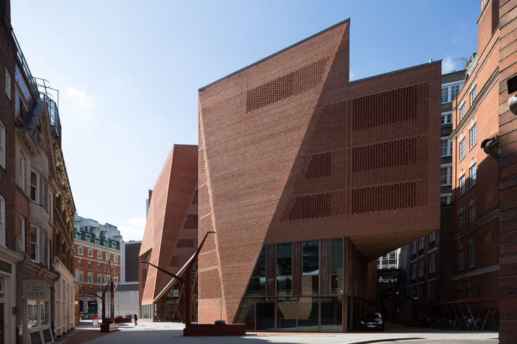 Nick Kane photography #architecture Saw Swee Hock Centre, LSE London School of…