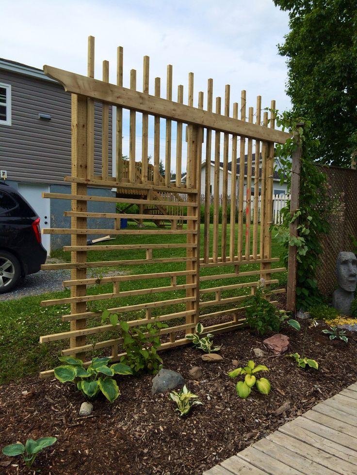 DIY Garden Vine Trellis | For the Home | Pinterest