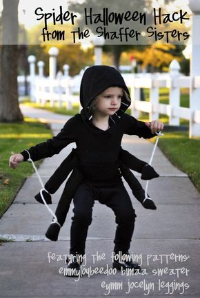 Shaffer Sisters: Spider Costume Spinne #Fasching #Kostüm