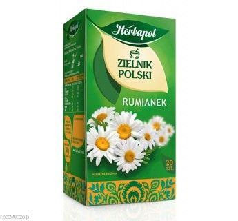 Herbata HERBAPOL rumianek opak.6 | spozywczo.pl Herbatę możesz kupić na: http://www.spozywczo.pl/hurtownia-kawy-herbaty