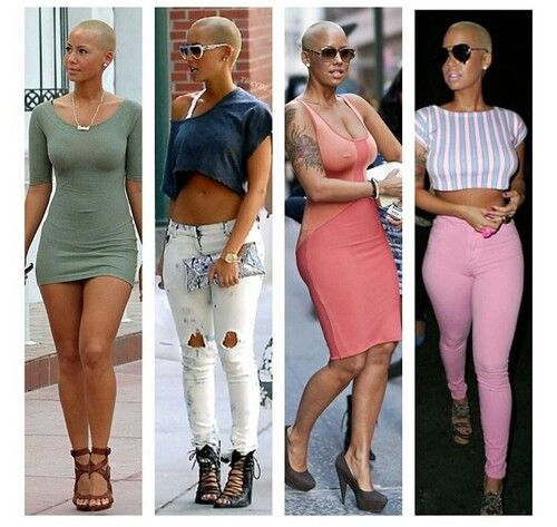 Amber rose cute outfits!