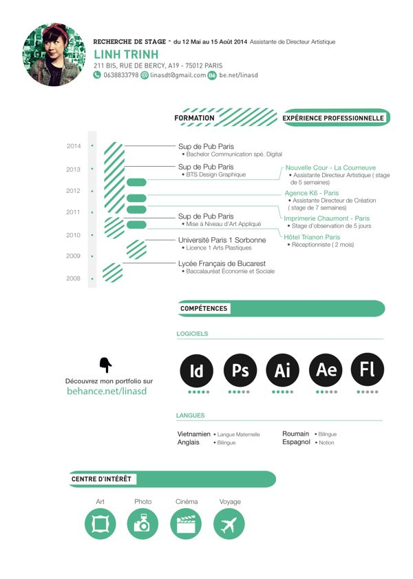Amazing Resumes 34 Best Creative Cv Images On Pinterest  Resume Design Design .