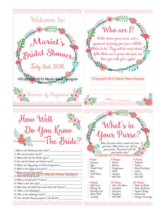 17 best images about fun wedding accessories on pinterest for Non traditional bridal shower games