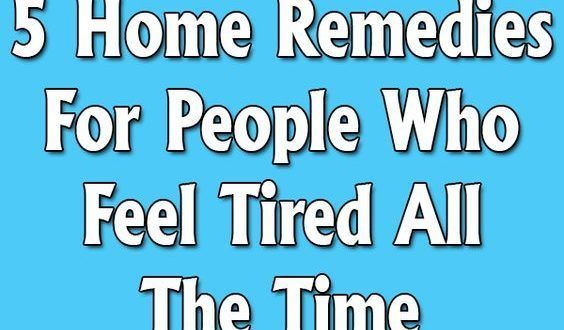 5 HOME REMEDIES FOR PEOPLE WHO FEEL TIRED ALL THE TIME! Are you one of those people who are always tired and sleepy? Do you need more sleep? What can you do to help yourself feel more rested and en…