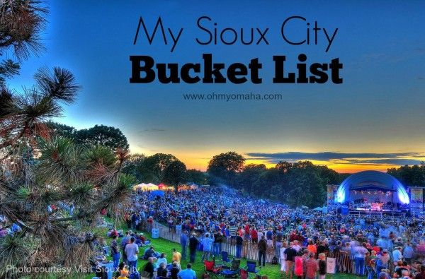 Things to see and do, as well as places to eat, when visiting Sioux City, Iowa, for families or grownups seeking a getaway.