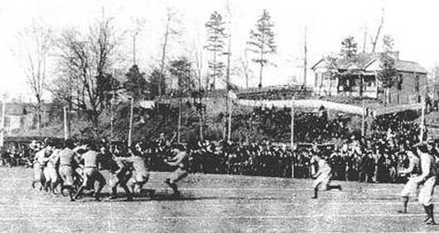 [Here's an interesting news article from 1910 pleading for the football rivalry between Alabama and Auburn to continue in Birmingham after being suspended.] Alabama and Auburn have met in the Iron Bowl for so many years that we may not ... Read More