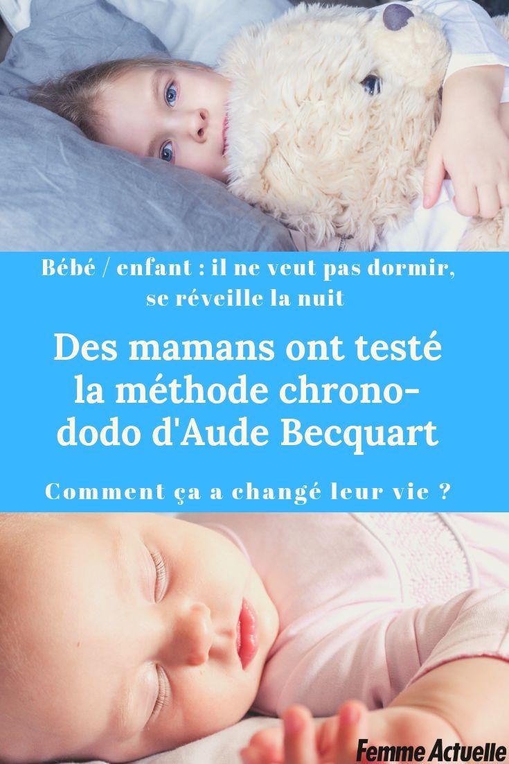 Bébé qui a du mal à s'endormir ou se réveille la nuit: la méthode du spécialiste du sommeil Aude Becquart