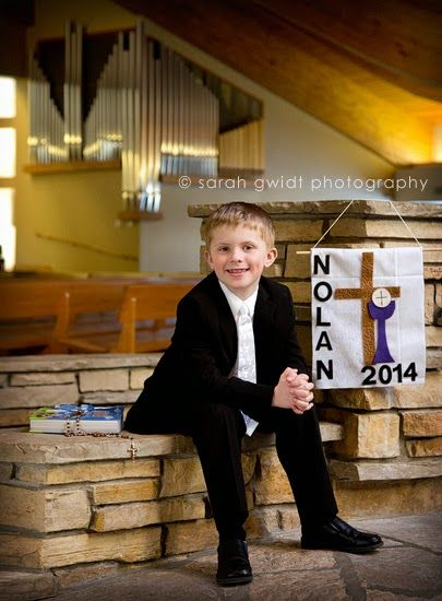 Sarah Gwidt Photography: Nolan {First Communion Portraits}