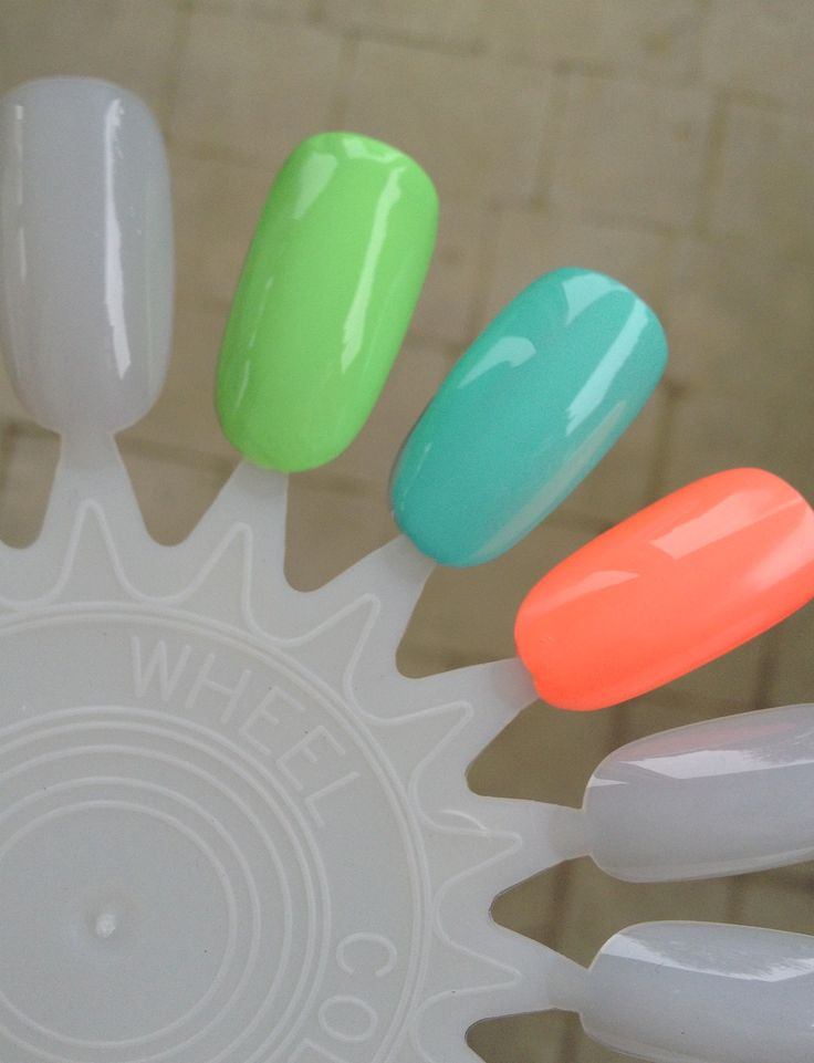 Pop Beauty Nail Glam in 'Mint Magic': Pop Beauty Nail Glam in 'Loud Lime': China Glaze Flip Flop Fantasy: