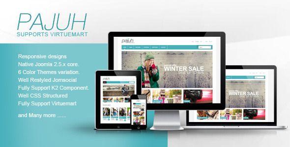 13 Responsive Virtuemart #ecommerce #joomla #templates and #Themes 2014