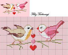 Ben de sizler için sevgililer günü tasarımları yaptım...( For Valentine's Day 1 ) Designed by Filiz Türkocağı...