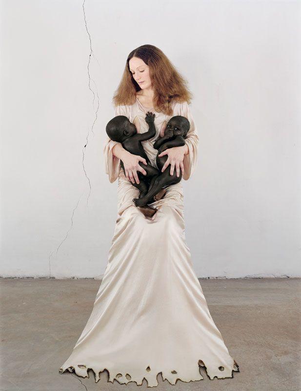 VANESSA BEECROFT WHITE MADONNA_2006
