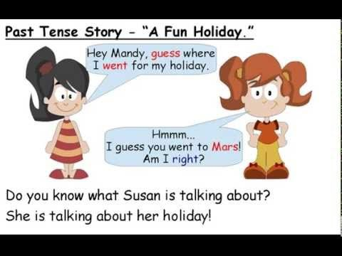 U1: Talking about holidays - Past Simple