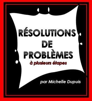 Ce produit inclut: 40 résolutions de problèmes à plusieurs étapes. Les élèves auront l'occasion de résoudre des problèmes en utilisant les quatre opérations.(+-X÷) J'ai aussi inséré la clé de correction.