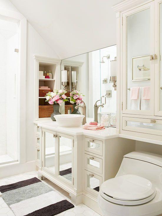 Small Bathroom Color Schemes: 10 Small Bathroom Color Ideas